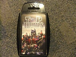 REDUCED Top Trumps Transformers