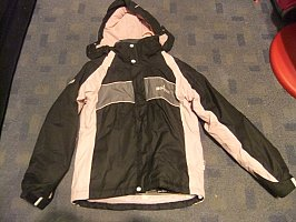 Girl's No Fear ski jacket size 8