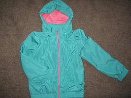Girls Lightweight rain jacket