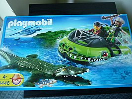 PLAYMOBILE RIVER SAFARI BOAT