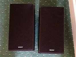 Sony bookshelf speakers - new