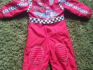 Disney Pixar Cars 2 McQueen Racing Driver Costume age 2-3