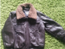 brown leather style jacket age 2-3 years