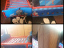 Thomas the Tank wooden toddler bed with matching bundle 
